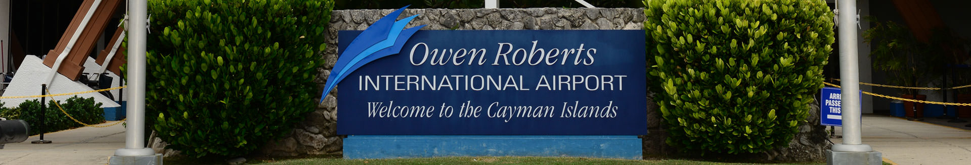 Overview of Owen Roberts International Airport