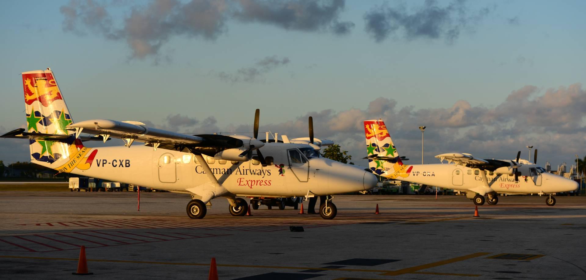 Cayman Brac Arrivals